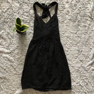 BCBG MAXAZRIA little black lace dress